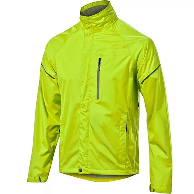 Men's Cycling Jacket Winter Summer Bike Top Quick Dry Moisture Wicking Sports Solid Color Green Clothing Apparel Bike Wear / Long Sleeve / Athleisure