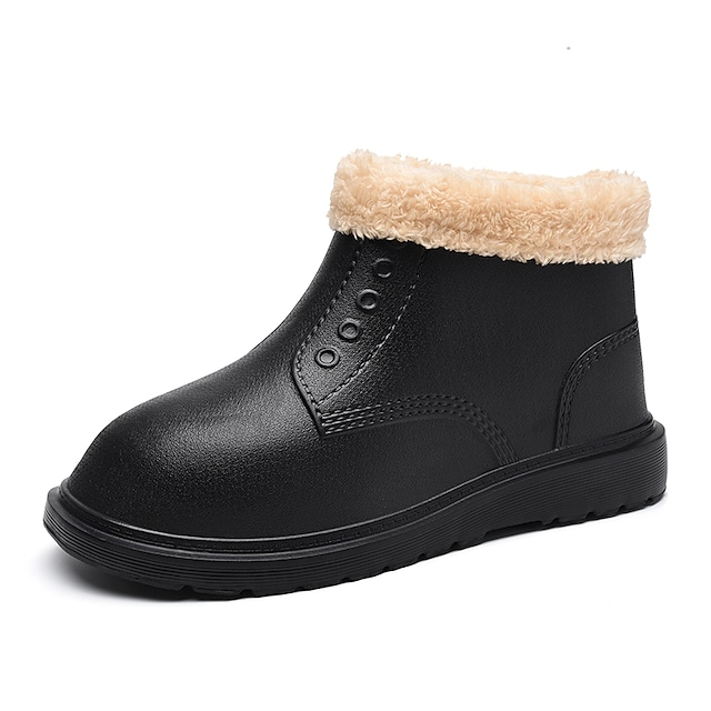 Men's Boots Business Casual Classic Daily PU Booties / Ankle Boots Gray Black Beige Winter