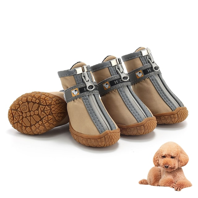 2021 new dog shoes pet shoes teddy vip french fighting small dog puppy shoes waterproof and breathable wear-resistant manufacturers