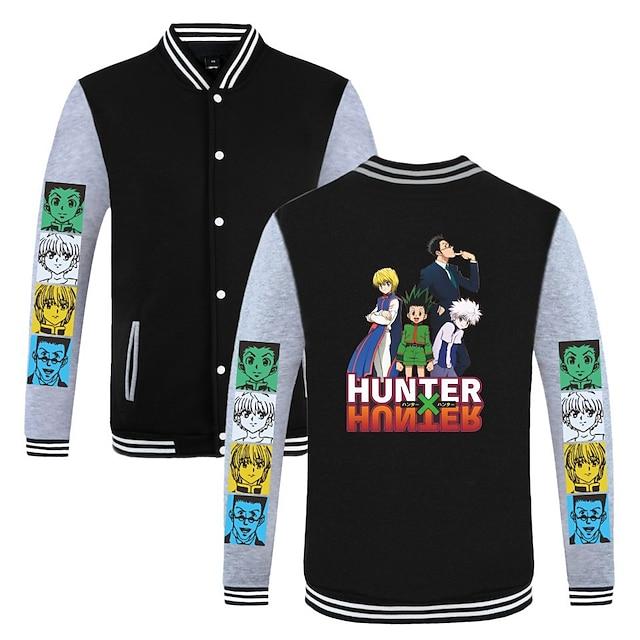 Inspired by Hunter X Hunter GON·FREECSS Varsity Jacket Poly / Cotton Anime Harajuku Graphic Kawaii Coat For Men's / Women's