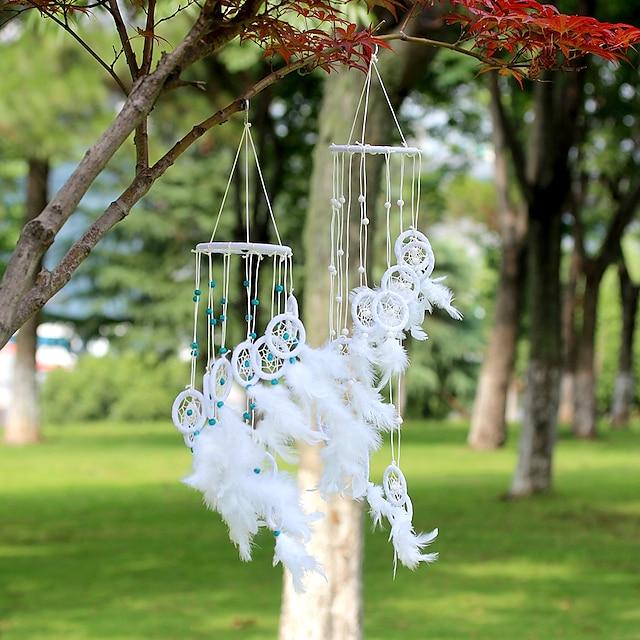 New wind chime beads S-shape dream catcher dream catcher pendant home decoration crafts