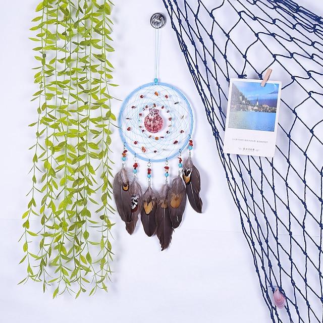 Retro shell pendant home decoration dream catcher pendant cross-border hot selling dream catcher wall hanging wall decoration