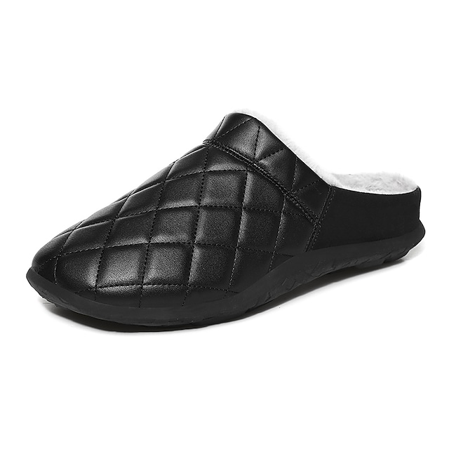 Men's Clogs & Mules Casual Home Daily Mesh Black / White Army Green Gray Winter