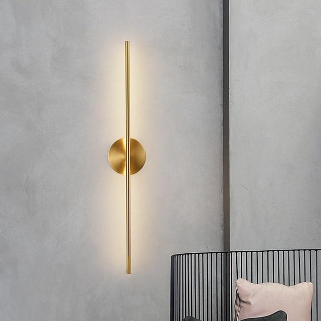LED Modern LED Wall Lights Living Room Bedroom Copper Wall Light IP20 220-240V 10 W