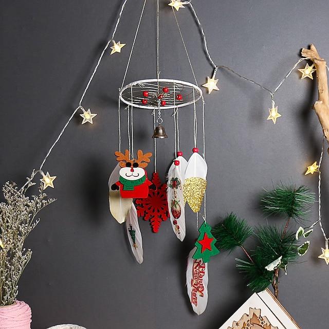 Christmas series holiday lantern dream catcher wind chimes original home decoration dream catcher decoration hanging ornaments