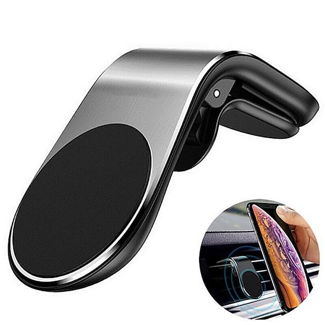 Telefonholderstativ Bil Xiaomi MI Samsung Apple HUAWEI Luftudløbsgitter Magnetisk type Tilbehør til mobiltelefoner iPhone 12 11 Pro Xs Xs Max Xr X 8 Samsung Glaxy S21 S20 Note20