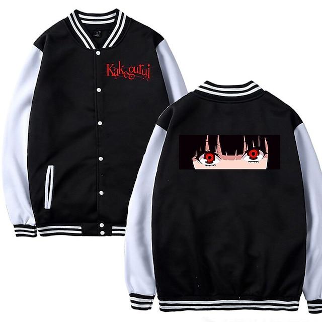 Inspired by Kakegurui / Compulsive Gambler Yomodzuki Runa Anime Cartoon Polyster Anime Harajuku Graphic Kawaii Coat For Men's / Women's / Couple's