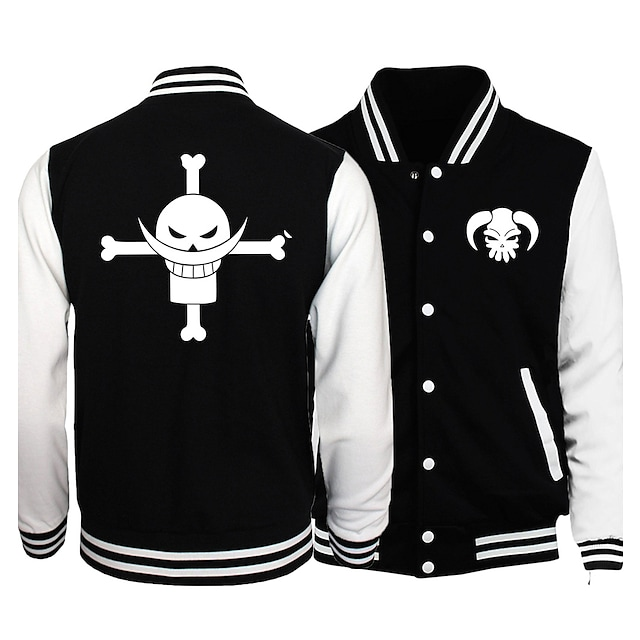 Inspired by One Piece Monkey D. Luffy Anime Cartoon Poly / Cotton Anime Harajuku Graphic Kawaii Coat For Men's / Women's / Couple's