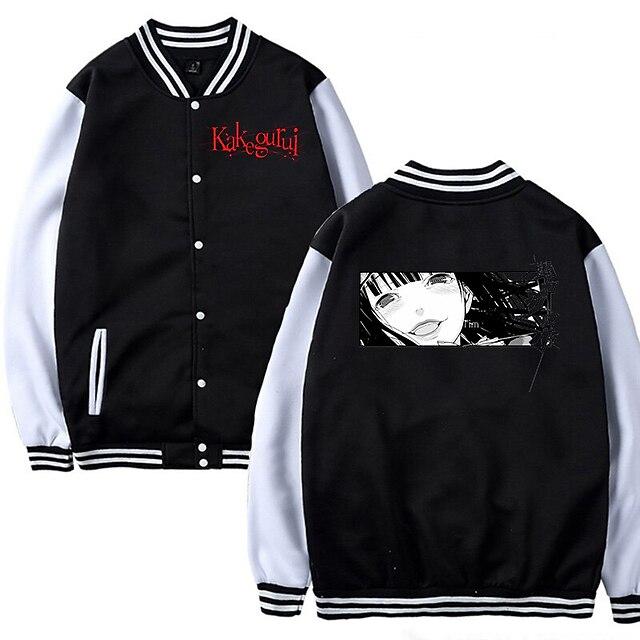 Inspired by Kakegurui / Compulsive Gambler Yumeko Jabami Varsity Jacket Polyster Anime Harajuku Graphic Kawaii Coat For Men's / Women's