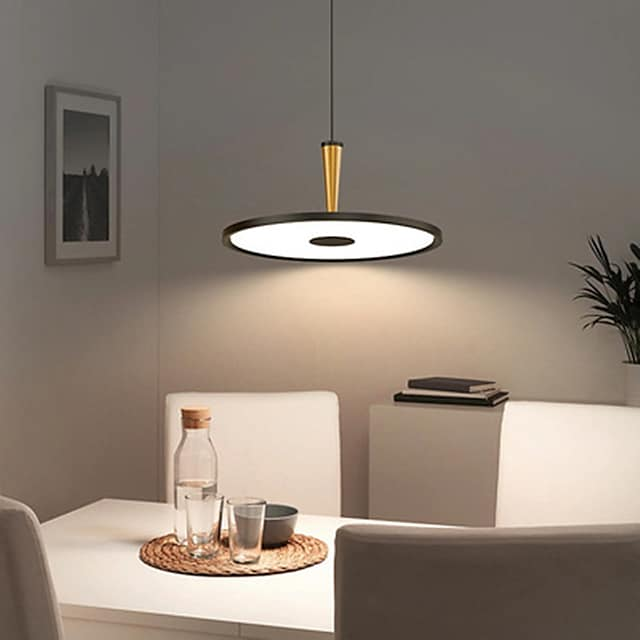 40/50 cm Single Design Chandelier Metal Modern Style Stylish Painted Finishes LED Modern 220-240V