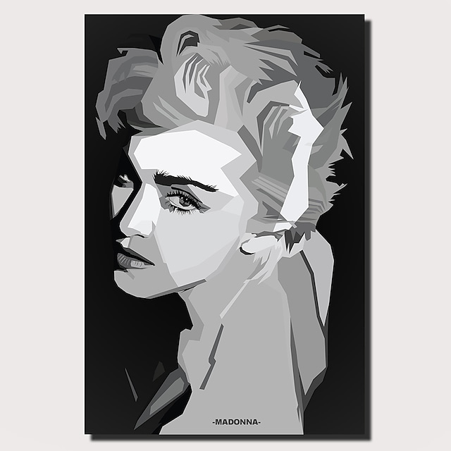 1 Panel Wall Art Canvas Prints Painting Artwork Picture Madonna Painting Home Decoration Decor Rolled Canvas No Frame Unframed Unstretched