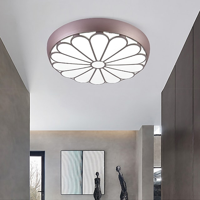 LED Ceiling Light 50 cm Dimmable Flush Mount Lights Metal Modern Style LED 110-240 V