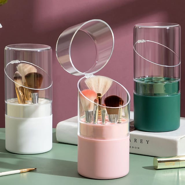 Storage Box Household Table Eyeliner Eye Shadow Makeup Brush Shelving Dresser Finishing Utensil