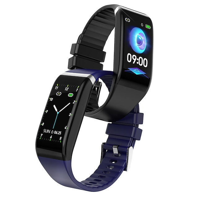 ASLING C919 Smart Band Fitness Bracelet Bluetooth ECG+PPG Pedometer Activity Tracker Message Reminder Call Reminder Anti-lost IP 67 40mm Watch Case for Android iOS Men Women