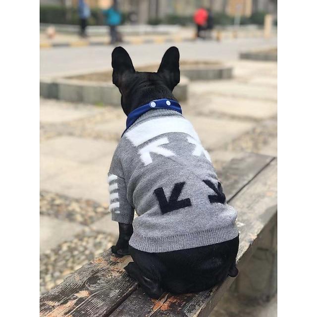 dog clothes fall/winter pullover sweater schnauzer pomeranian corgi fight vip pet cat tide brand clothing