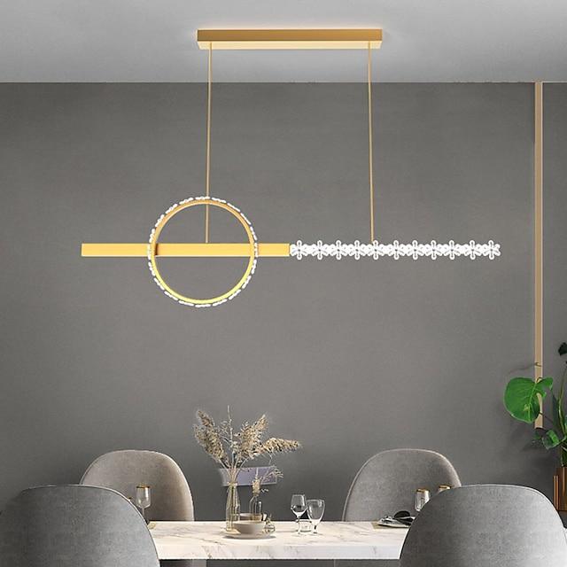 110 cm Pendant Lantern Design Chandelier Metal Painted Finishes Modern 220-240V