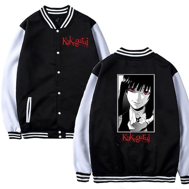 Inspired by Kakegurui / Compulsive Gambler Yomodzuki Runa Varsity Jacket Polyster Anime Harajuku Graphic Kawaii Coat For Men's / Women's