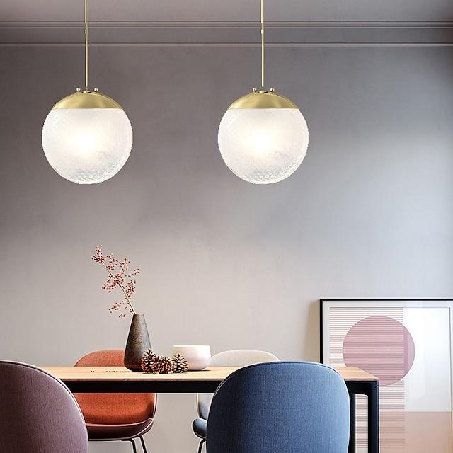 16 cm Single Design Pendant Light LED Copper Modern Style Stylish Brass Artistic Modern 220-240V