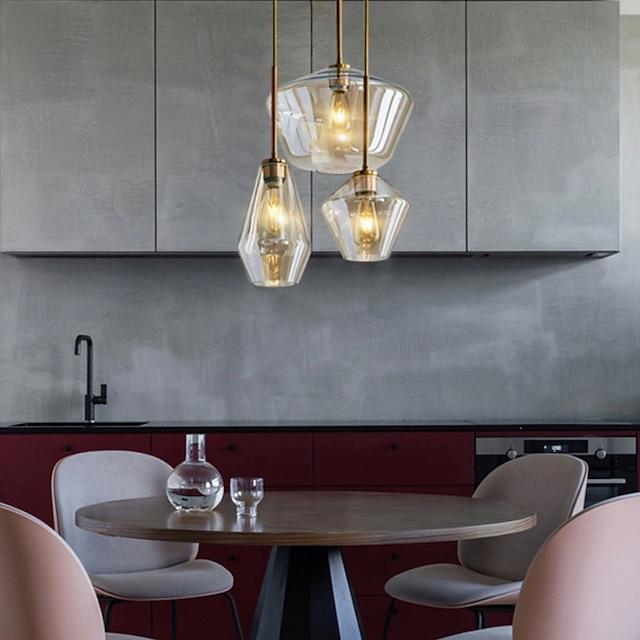 85/45 cm Cluster Design Pendant Light LED Metal Modern Style Painted Finishes Modern Nordic Style 220-240V