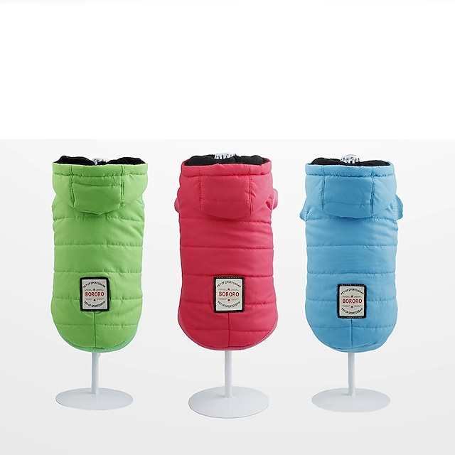 new style pet cotton-padded clothes, dog clothes, autumn and winter models of pet clothes, hooded jacket, cross-border e-commerce spot direct supply