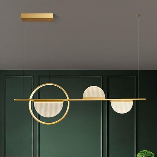 75/95 cm Single Design Pendant Light LED Metal Artistic Style Modern Style Stylish Painted Finishes Artistic Modern 220-240V