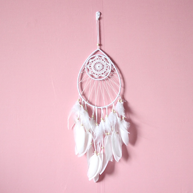 Creative water drop home dream catcher hanging decoration wind chimes girl's room decorated dream catcher