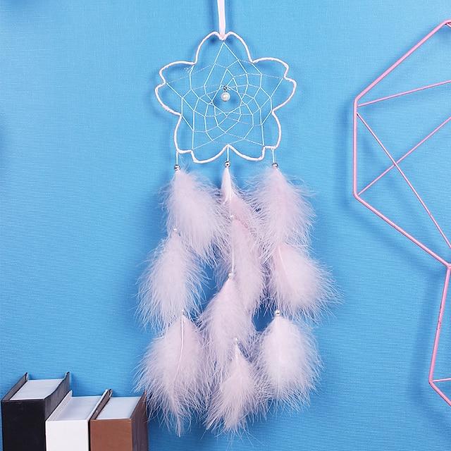 Creative new flower dream catcher home electric meter box block pendant wall decoration