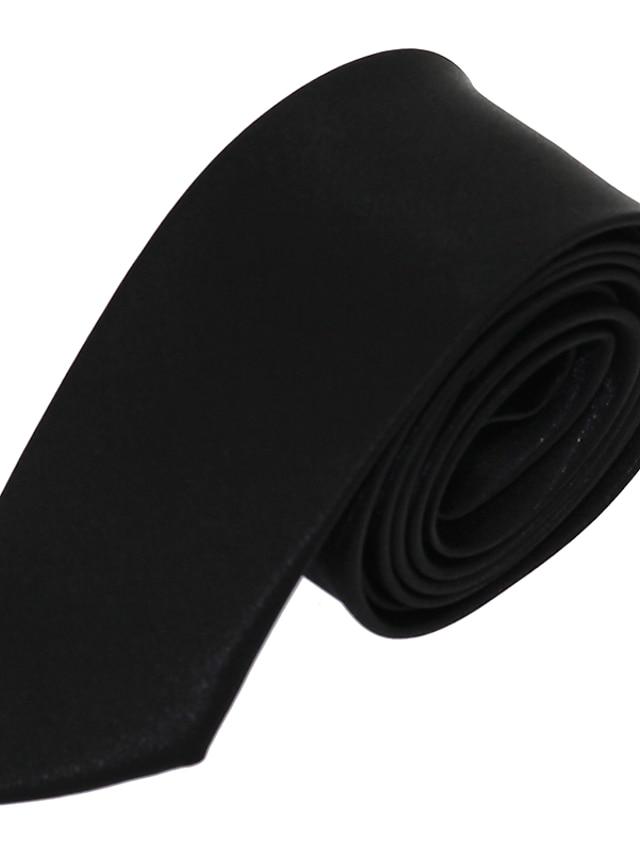 עניבת צווארון - אחיד עבודה / בסיסי / מסיבה בגדי ריקוד גברים