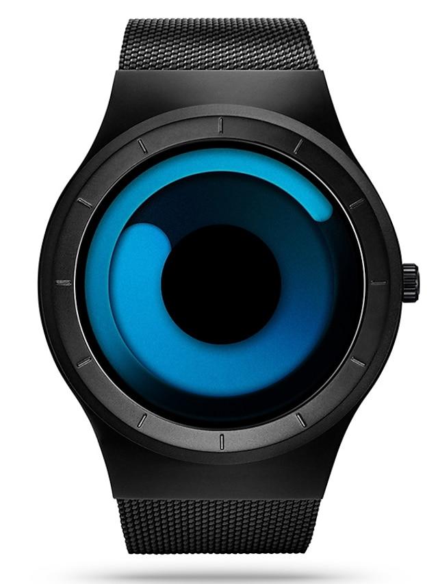 SINOBI Men's Sport Watch Wrist Watch Analog Quartz Luxury Water Resistant / Waterproof Shock Resistant / Stainless Steel / Stainless Steel / Two Years