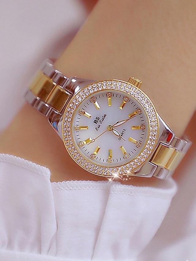 Women's Bracelet Watch Diamond Watch Analog Quartz Ladies Creative Beautiful and elegant / Japanese / Blinging