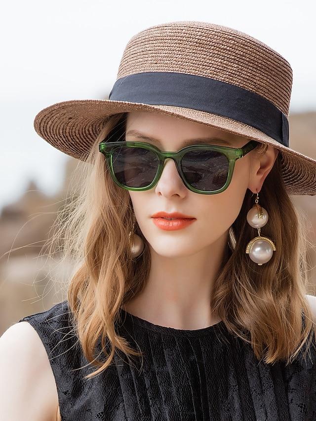 Fibră naturală Pălării de paie cu 1 buc Casual / Purtare Zilnică Diadema