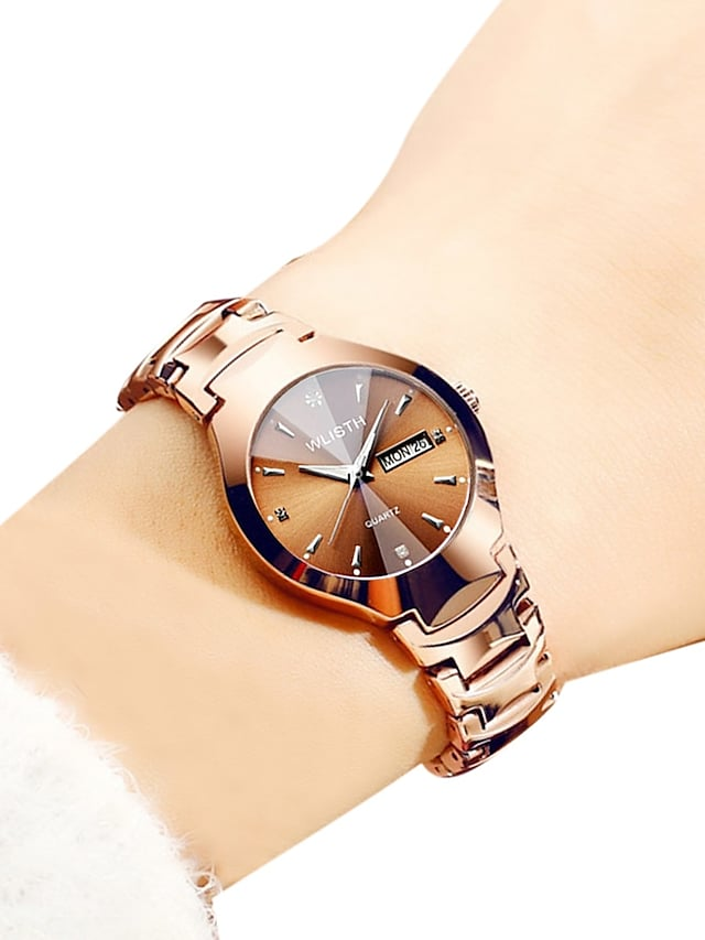 Women's Quartz Watches Analog - Digital Quartz Luxury Water Resistant / Waterproof Calendar / date / day Noctilucent