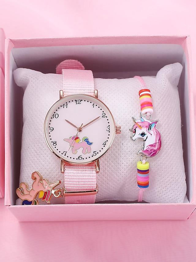 Kids Quartz Watches Analog Quartz Stylish Animal Pattern Elegant Cute Creative Casual Watch / Stainless Steel