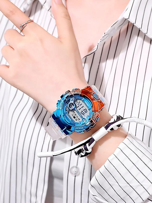 Men's Digital Watch Analog Digital Sporty Modern Style Altimeter / One Year / Leather
