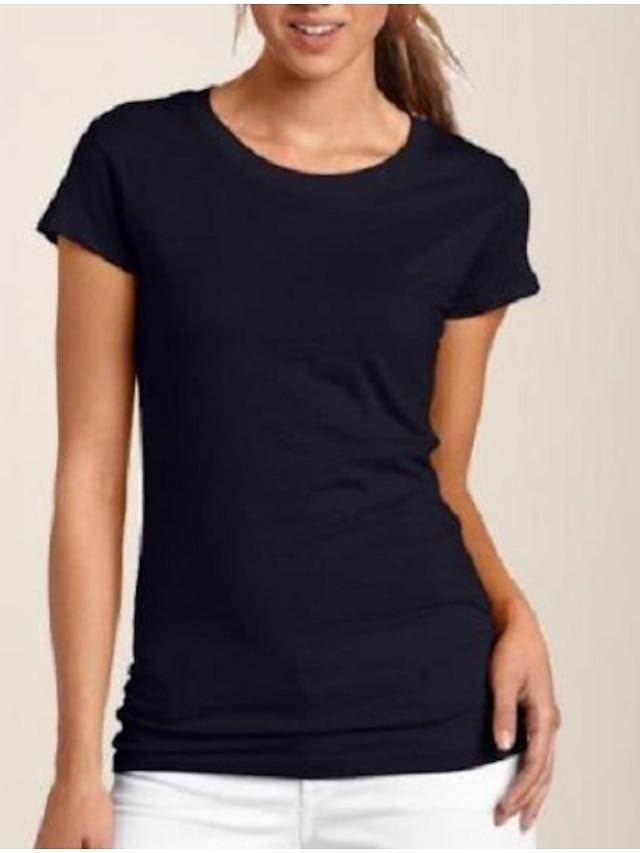 litb basic женская футболка из 100% хлопка мягкая удобная классическая футболка однотонная с круглым вырезом повседневные топы с короткими рукавами простая мужская летняя футболка