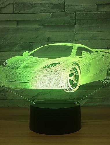 Irregular 3D Nightlight Night Light For Children Creative Birthday USB 1pc