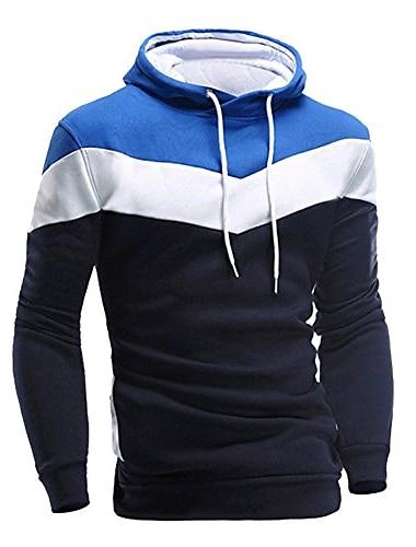 модная мужская толстовка с длинным рукавом в стиле пэчворк, толстовка с капюшоном, верхняя одежда, куртка, верхняя одежда (серый, l)