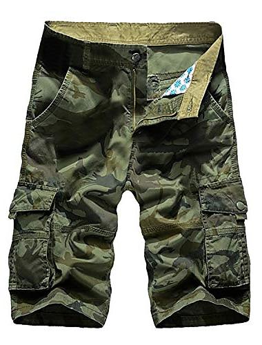 short camo pour hommes poches baggy d\'ete avec pantalon a fermeture eclair camouflage cargo vetements streetwear bermuda masculina