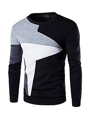 ανδρικό πουλόβερ πουκάμισο μακρυμάνικο μπλουζάκι o-neck φούτερ