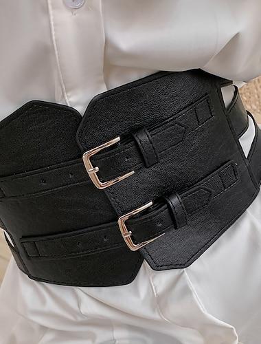 코르셋 여성용 웨이스트 트레이너 뜨거운 섹시 모던 스타일 섹시 한 색상 별도 지정 없음 폴리우레탄 폴리에스테르 캐쥬얼 일상 사계절 블랙