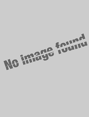 Bărbați Cămașă de golf Zăbrele Bloc Culoare Geometric Fermoar Peteci Manșon Lung Casual Topuri Afacere Simplu Ușor De Bază Alb Negru